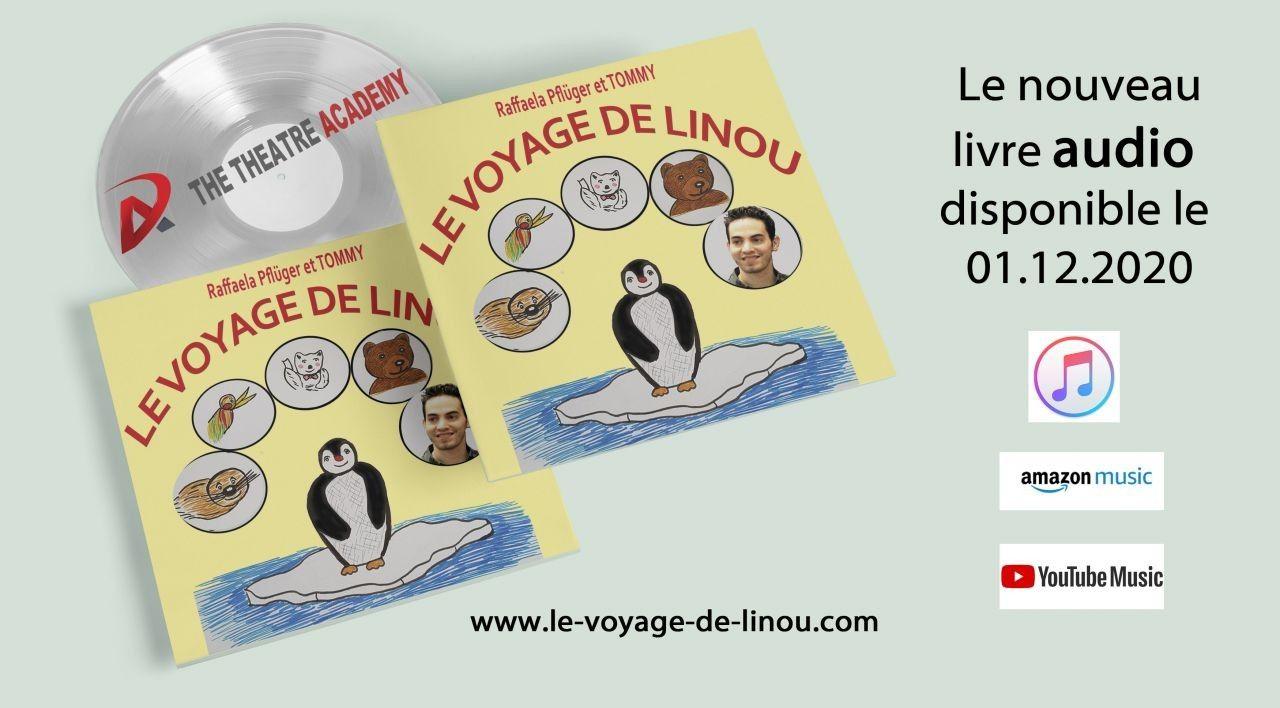 Sortie du livre audio : Le voyage de Linou